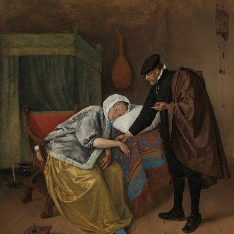 Rijks-JanSteen-ZiekeVrouw-1663